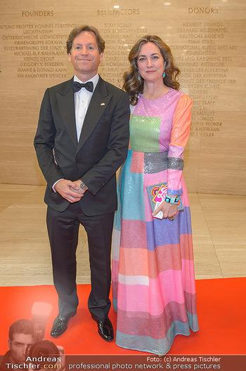 Fundraising Dinner - Albertina, Wien - Di 07.05.2019 - Trevor D. TRAINA mit Ehefrau Alexis S.35