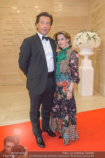 Fundraising Dinner - Albertina, Wien - Di 07.05.2019 - Matthias und Ali Alexandra WINKLER (Gürtler)51