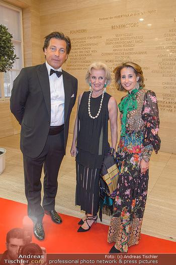 Fundraising Dinner - Albertina, Wien - Di 07.05.2019 - Matthias und Ali Alexandra WINKLER (Gürtler) mit Mutter Elisabe53