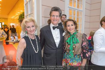 Fundraising Dinner - Albertina, Wien - Di 07.05.2019 - Familie Elisabeth GÜRTLER mit Kindern Ali Alexandra und Georg61