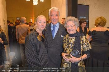 Fundraising Dinner - Leopold Museum - Di 14.05.2019 - Elisabeth LEOPOLD, Agnes und Peter HUSSLEIN1