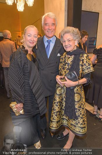 Fundraising Dinner - Leopold Museum - Di 14.05.2019 - Elisabeth LEOPOLD, Agnes und Peter HUSSLEIN54