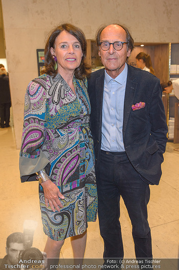 Fundraising Dinner - Leopold Museum - Di 14.05.2019 - Manfred BOCKELMANN mit Ehefrau Maria57