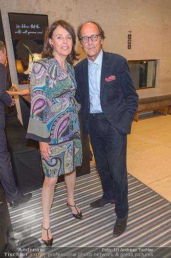 Fundraising Dinner - Leopold Museum - Di 14.05.2019 - Manfred BOCKELMANN mit Ehefrau Maria58