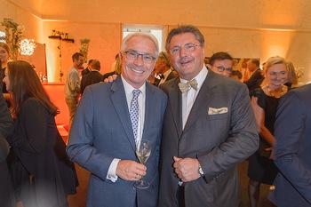 Fundraising Dinner - Leopold Museum - Di 14.05.2019 - Georg PÖLZL, Karl-Heinz STRAUSS121