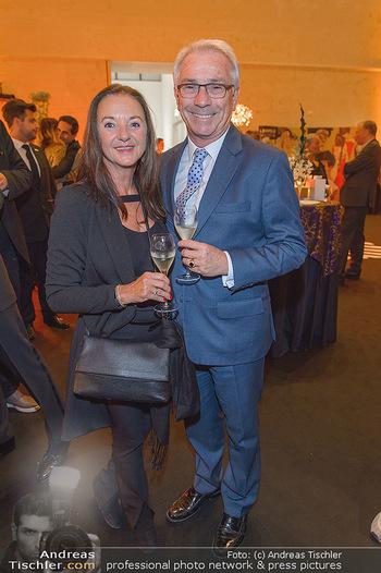 Fundraising Dinner - Leopold Museum - Di 14.05.2019 - Georg PÖLZL mit Ehefrau Evelyn123