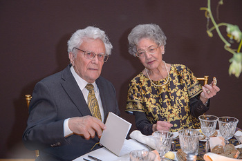 Fundraising Dinner - Leopold Museum - Di 14.05.2019 - Alfons HUBER, Elisabeth LEOPOLD135