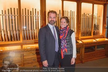 Opening - Springer´s Erben Museum - Mi 15.05.2019 - Christian SPRINGER mit Ehefrau Regina1
