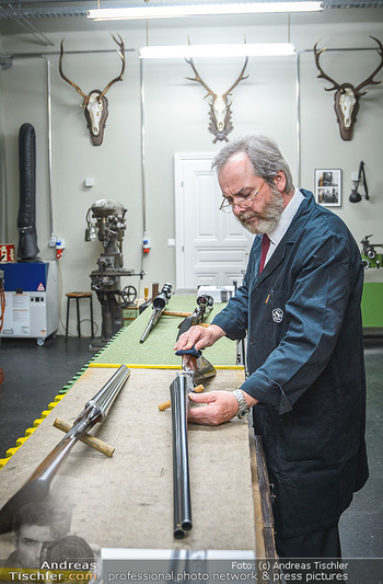 Opening - Springer´s Erben Museum - Mi 15.05.2019 - Mitarbeiter in der Werkstatt, Büchsenmacher33