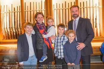 Opening - Springer´s Erben Museum - Mi 15.05.2019 - Familie Christian SPRINGER mit Ehefrau Regina und Kindern Leopol50