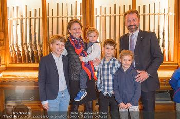 Opening - Springer´s Erben Museum - Mi 15.05.2019 - Familie Christian SPRINGER mit Ehefrau Regina und Kindern Leopol51