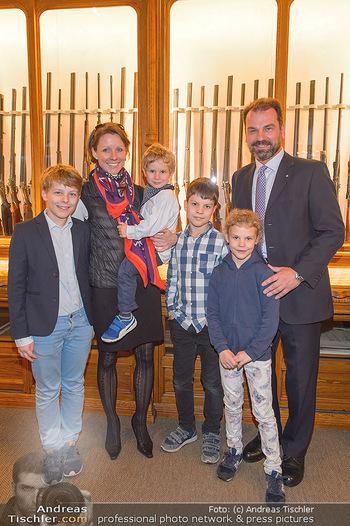 Opening - Springer´s Erben Museum - Mi 15.05.2019 - Familie Christian SPRINGER mit Ehefrau Regina und Kindern Leopol52