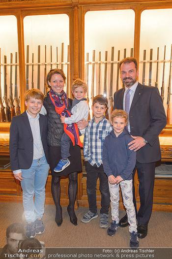 Opening - Springer´s Erben Museum - Mi 15.05.2019 - Familie Christian SPRINGER mit Ehefrau Regina und Kindern Leopol53
