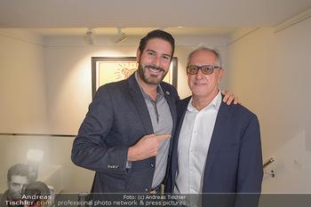 Opening - Galerie Gerald Hartinger - Do 16.05.2019 - Clemens UNTERREINER, Gerald HARTINGER1