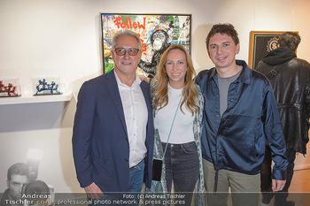 Opening - Galerie Gerald Hartinger - Do 16.05.2019 - Familie Gerald HARTINGER mit Tochter Lena und Sohn Julian HEIDRI3