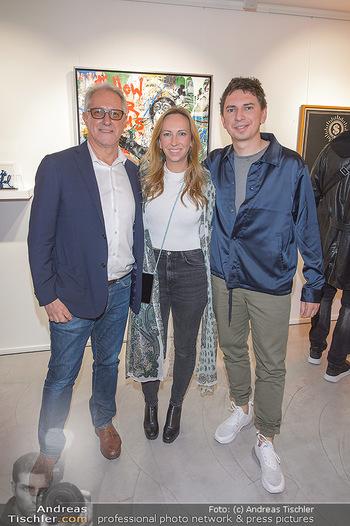 Opening - Galerie Gerald Hartinger - Do 16.05.2019 - Familie Gerald HARTINGER mit Tochter Lena und Sohn Julian HEIDRI4