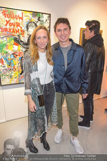 Opening - Galerie Gerald Hartinger - Do 16.05.2019 - Lena und Julian HEIDRICH (Julian LePLAY)5