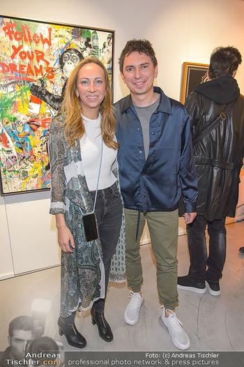 Opening - Galerie Gerald Hartinger - Do 16.05.2019 - Lena und Julian HEIDRICH (Julian LePLAY)6