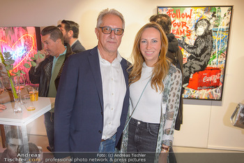 Opening - Galerie Gerald Hartinger - Do 16.05.2019 - Gerald HARTINGER mit Tochter Lena HEIDRICH7