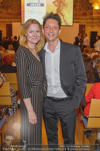 Gesund & Fit Award - Palais Niederösterreich - Mi 22.05.2019 - P.A. STRAUBINGER mit Ehefrau Nina75