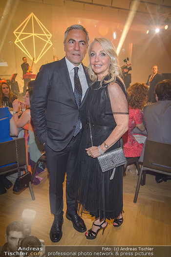 Schmuckstars Award Gala - Hotel Andaz am Belvedere Wien - Do 23.05.2019 - Uschi PÖTTLER-FELLNER, Christian PÖTTLER17