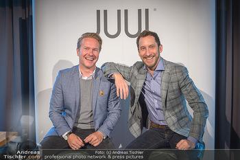 Juul Launchevent - Heuer und Das Dach, Wien - Mo 27.05.2019 - Udo UNTERBERGER, James MONSEES11