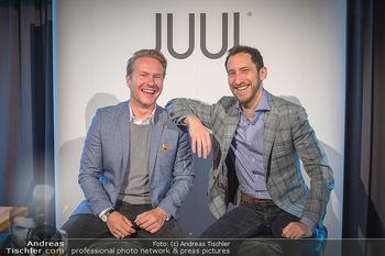 Juul Launchevent - Heuer und Das Dach, Wien - Mo 27.05.2019 - Udo UNTERBERGER, James MONSEES12