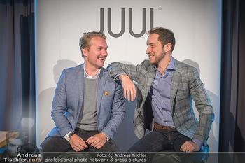 Juul Launchevent - Heuer und Das Dach, Wien - Mo 27.05.2019 - Udo UNTERBERGER, James MONSEES13