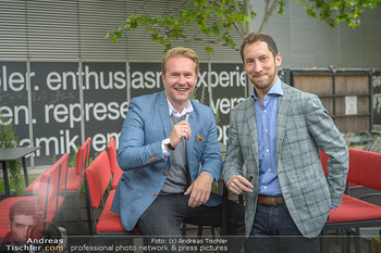 Juul Launchevent - Heuer und Das Dach, Wien - Mo 27.05.2019 - Udo UNTERBERGER, James MONSEES18