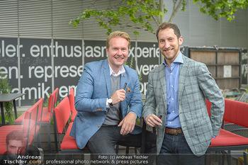 Juul Launchevent - Heuer und Das Dach, Wien - Mo 27.05.2019 - Udo UNTERBERGER, James MONSEES19