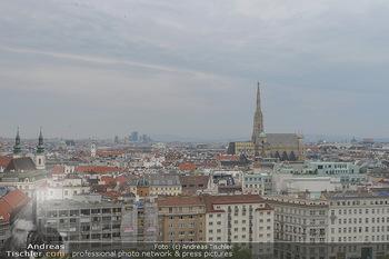 Juul Launchevent - Heuer und Das Dach, Wien - Mo 27.05.2019 - Blick über Wien Richtung Stephansdom99