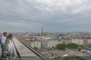 Juul Launchevent - Heuer und Das Dach, Wien - Mo 27.05.2019 - Blick über Wien Richtung Stephansdom103