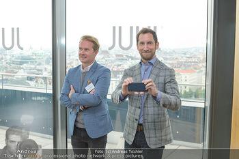 Juul Launchevent - Heuer und Das Dach, Wien - Mo 27.05.2019 - James MONSEES, Udo UNTERBERGER156