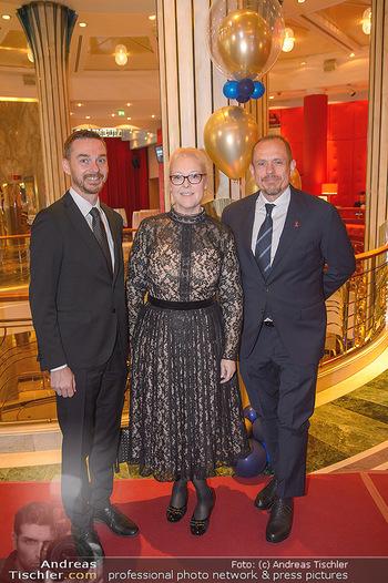 emba Awards 2019 - Casino Baden - Di 28.05.2019 - Gery KEZSLER mit Freund Miha VEBERIC, Doris POMMERENING25