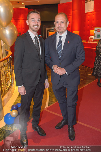emba Awards 2019 - Casino Baden - Di 28.05.2019 - Gery KEZSLER mit Freund Miha VEBERIC26