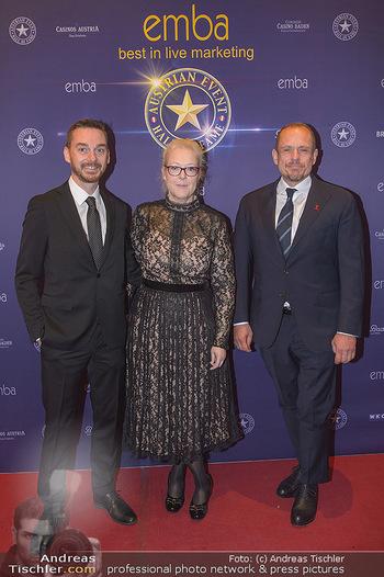 emba Awards 2019 - Casino Baden - Di 28.05.2019 - Gery KEZSLER mit Freund Miha VEBERIC, Doris POMMERENING28