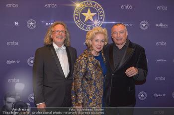 emba Awards 2019 - Casino Baden - Di 28.05.2019 - Rudi JOHN mit Ehefrau Andrea, Harald MARTENSTEIN34