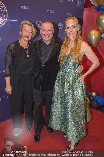 emba Awards 2019 - Casino Baden - Di 28.05.2019 - Rudi JOHN mit Ehefrau Andrea, Lilian KLEBOW37