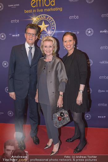 emba Awards 2019 - Casino Baden - Di 28.05.2019 - Elisabeth GÜRTLER mit Sohn Georg GÜRTLER mit Evi (schwanger)46