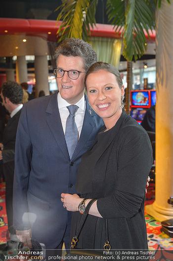 emba Awards 2019 - Casino Baden - Di 28.05.2019 - Georg GÜRTLER mit Evi (schwanger)49