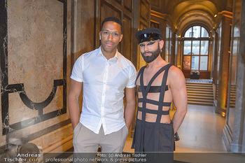 EuroPride Auftaktgala - Kunsthistorisches Museum KHM, Wien - So 02.06.2019 - Conchita WURST (Tom NEUWIRTH), Cesar SAMPSON1