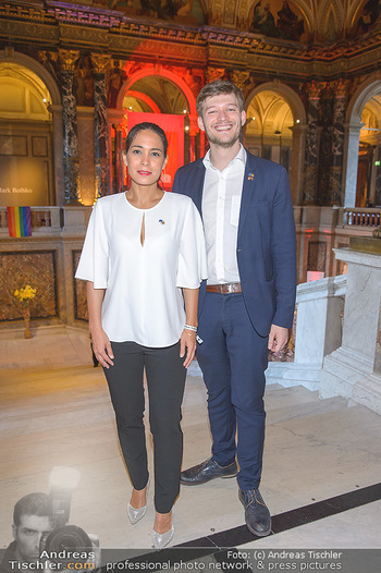 EuroPride Auftaktgala - Kunsthistorisches Museum KHM, Wien - So 02.06.2019 - Katharina KACEROVSKY, Moritz YVON8