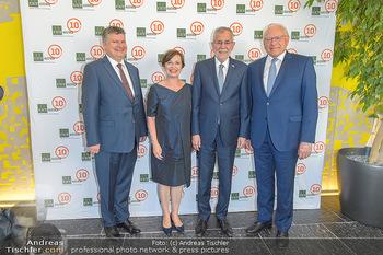 10 Jahresfeier - ISTAustria Klosterneuburg - Di 04.06.2019 - Claus RAIDL, Alexander VAN DER BELLEN, Doris SCHMIDAUER, Thomas 99