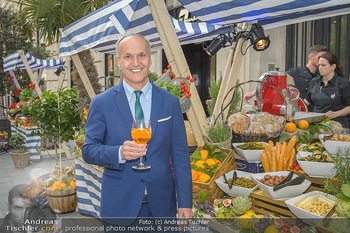 100 Jahre Aperol - Goldenes Quartier, Wien - Mi 05.06.2019 - Peter FRIESE64