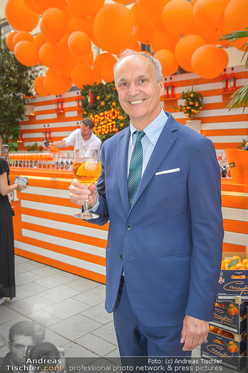 100 Jahre Aperol - Goldenes Quartier, Wien - Mi 05.06.2019 - Peter FRIESE67