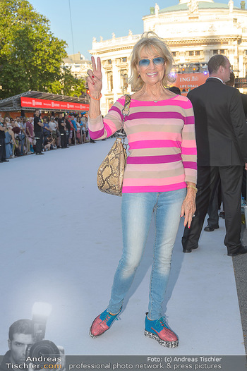 Lifeball red carpet - Rathaus Wien - Sa 08.06.2019 - Dagmar KOLLER7