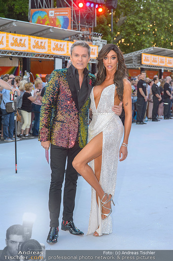 Lifeball red carpet - Rathaus Wien - Sa 08.06.2019 - Yasemine PETTY, Alfons HAIDER19