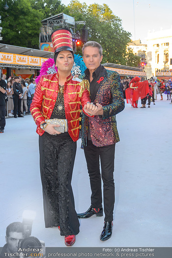 Lifeball red carpet - Rathaus Wien - Sa 08.06.2019 - Alfons HAIDER, Julian FM STÖCKEL21