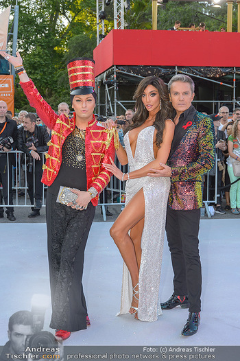 Lifeball red carpet - Rathaus Wien - Sa 08.06.2019 - Yasemine PETTY, Alfons HAIDER, Julian FM STÖCKEL23