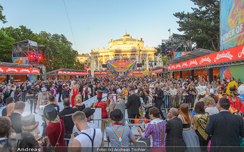 Lifeball red carpet - Rathaus Wien - Sa 08.06.2019 - Publikum am Rathausplatz, Burgtheater39